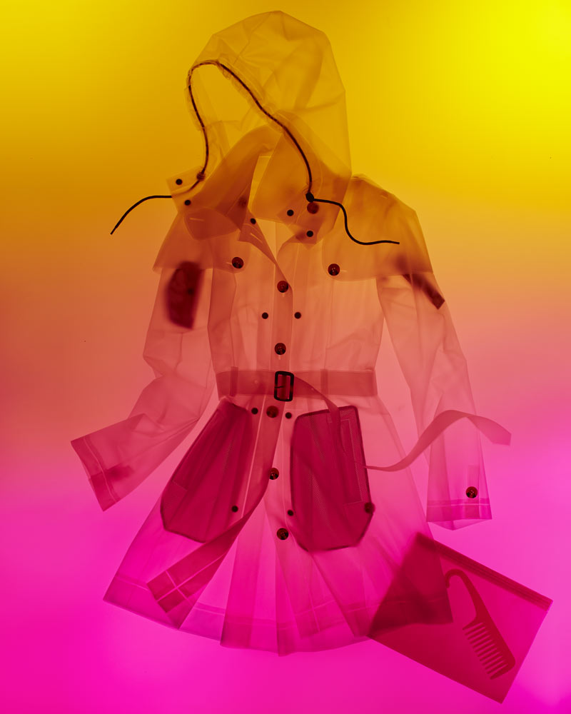 TERRA NYC TRANSLUCENT RAINCOATS