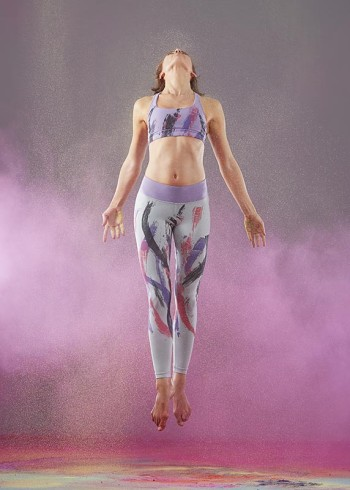 YOGA SMOGA PHOTOSHOOT, THE BEHRENS, DENISE BEHRENS, RAINER BEHRENS, POWDER EXPLOSION, POWDER PHOTOGRAPHY