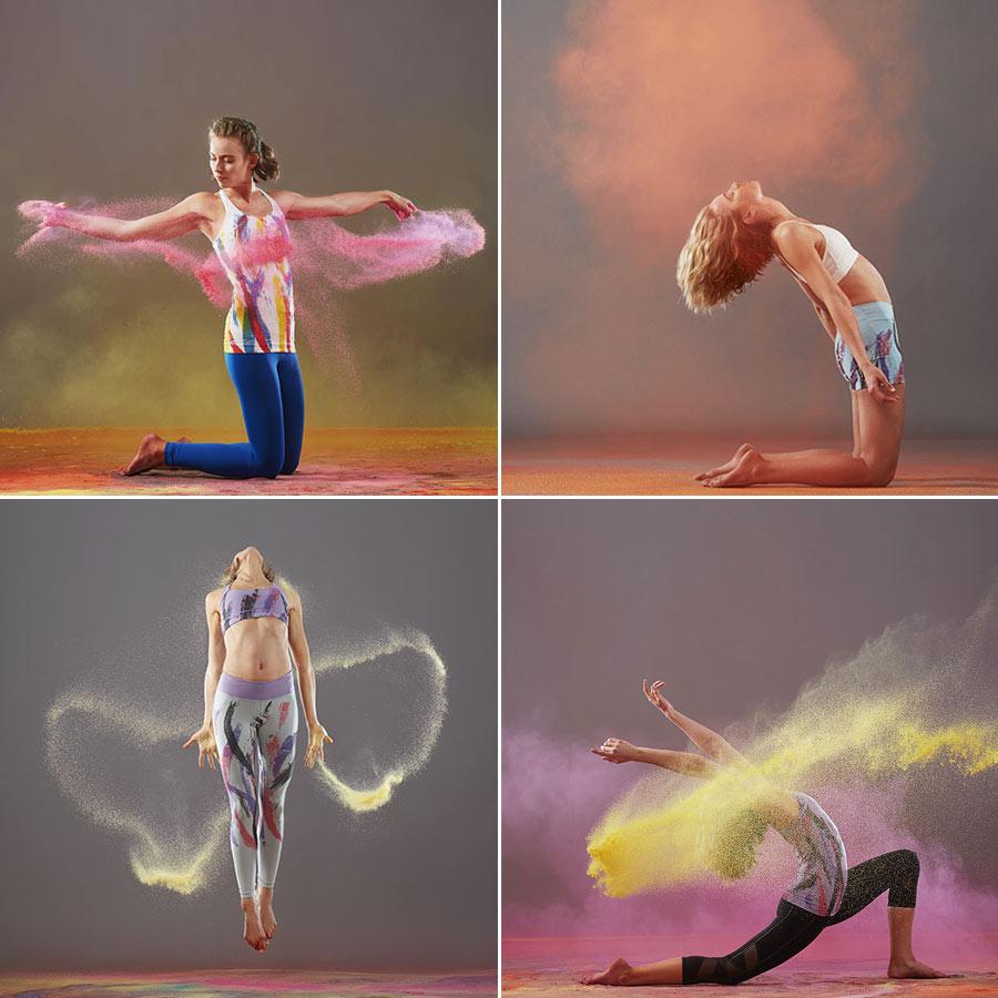 Yoga Smoga Photoshoot