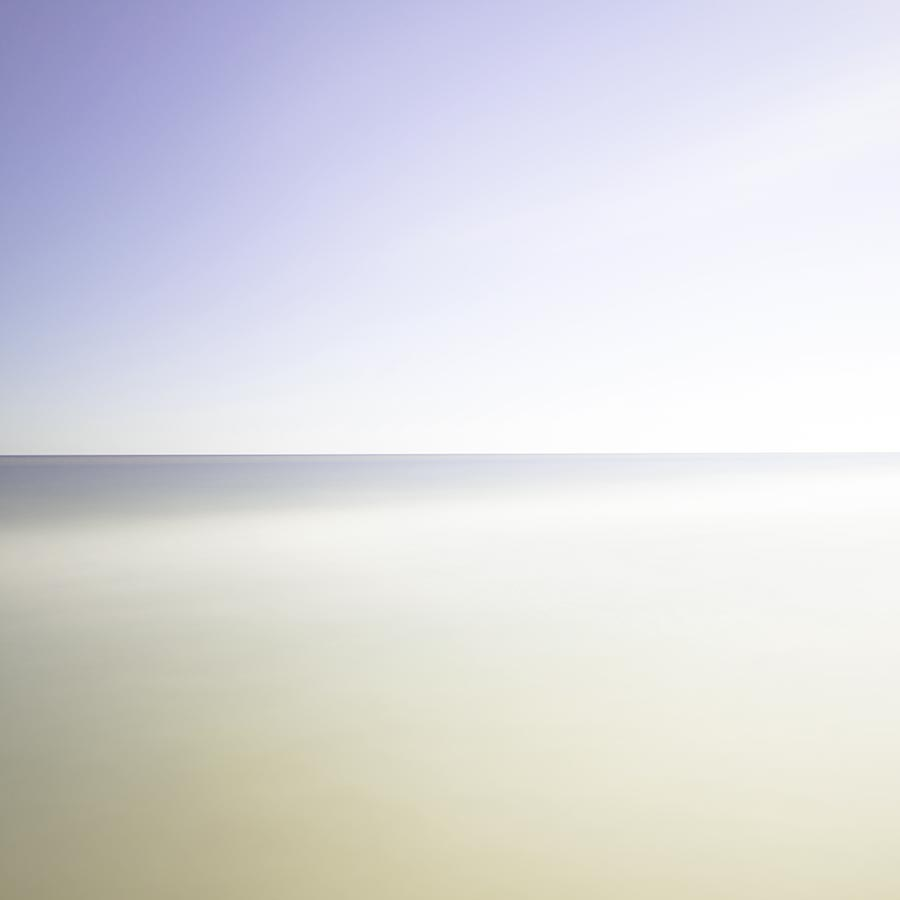 Montauk beach slow shutter seascape