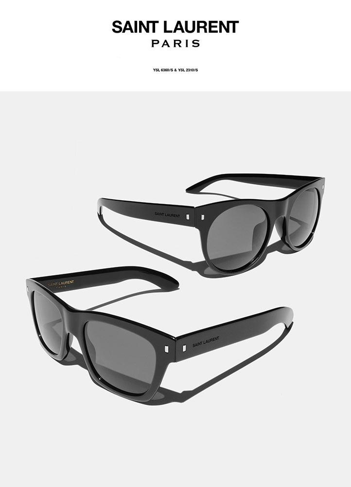 PRODUCT PHOTOGRAPHY NYC, SAINT LAURENT WEB PHOTOGRAPHER NYC, PRODUCT PHOTOGRAPH OF SAINT LAURENT SUNGLASSES PHOTOGRAPHED ON WHITE IN NYC