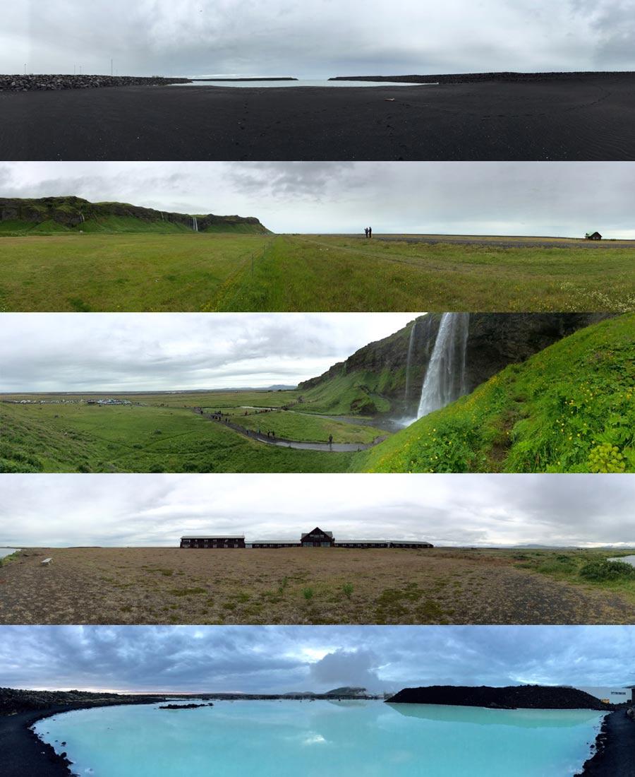ICELAND BUCKETLIST PANORAMAS